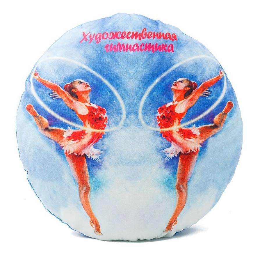 """Подушка декоративная """"Художественная гимнастика"""""""