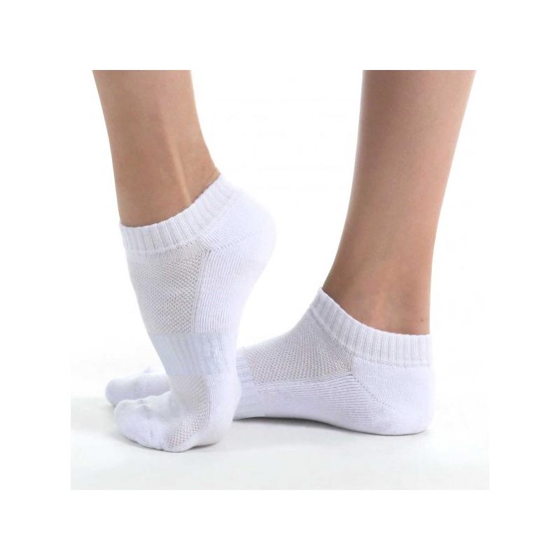 NS21-7 носки спортивные низкие, белый
